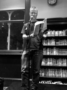 Bruce McCabe reads from Skinjob